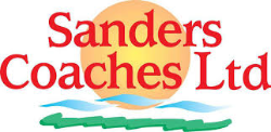 Sanders Coaches logo and link to their website
