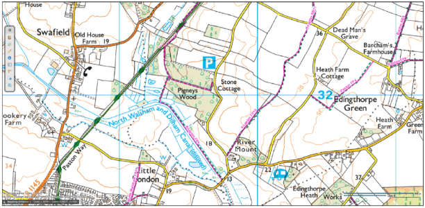 Knapton Parish walks & footpaths