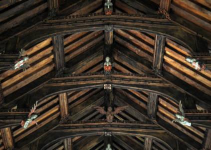 Knapton Church's Angels image