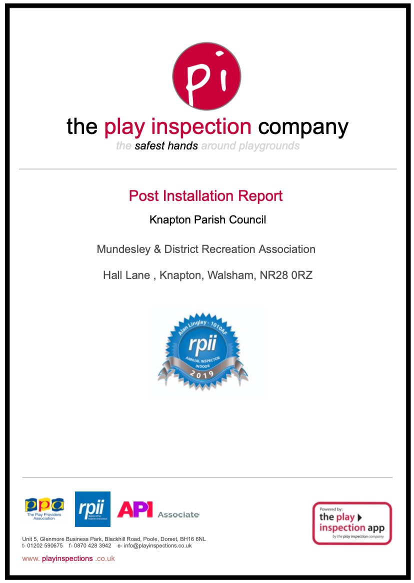 Playground Inspection Report icon image