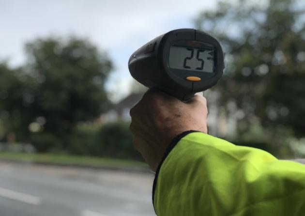Speedwatch camera image