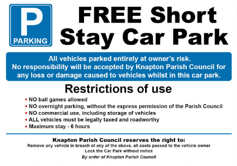 KPC Car Park Sign small image