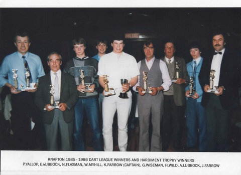 Knapton Dart League Winners 1985 image