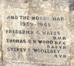 War Memorial - Inscription 1939-45 image