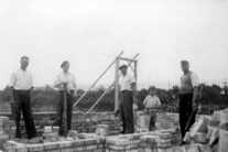 Building the Mens club house 3 image