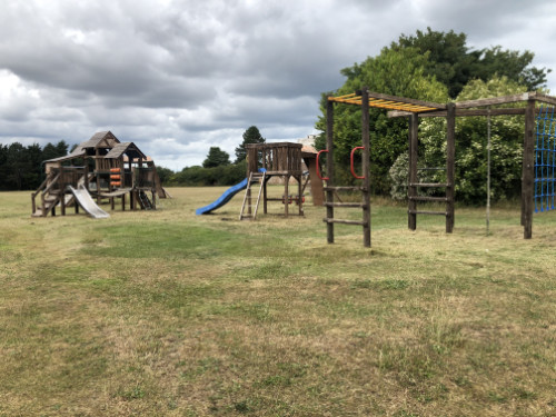 The playground when it was re-opened 1st July 2020