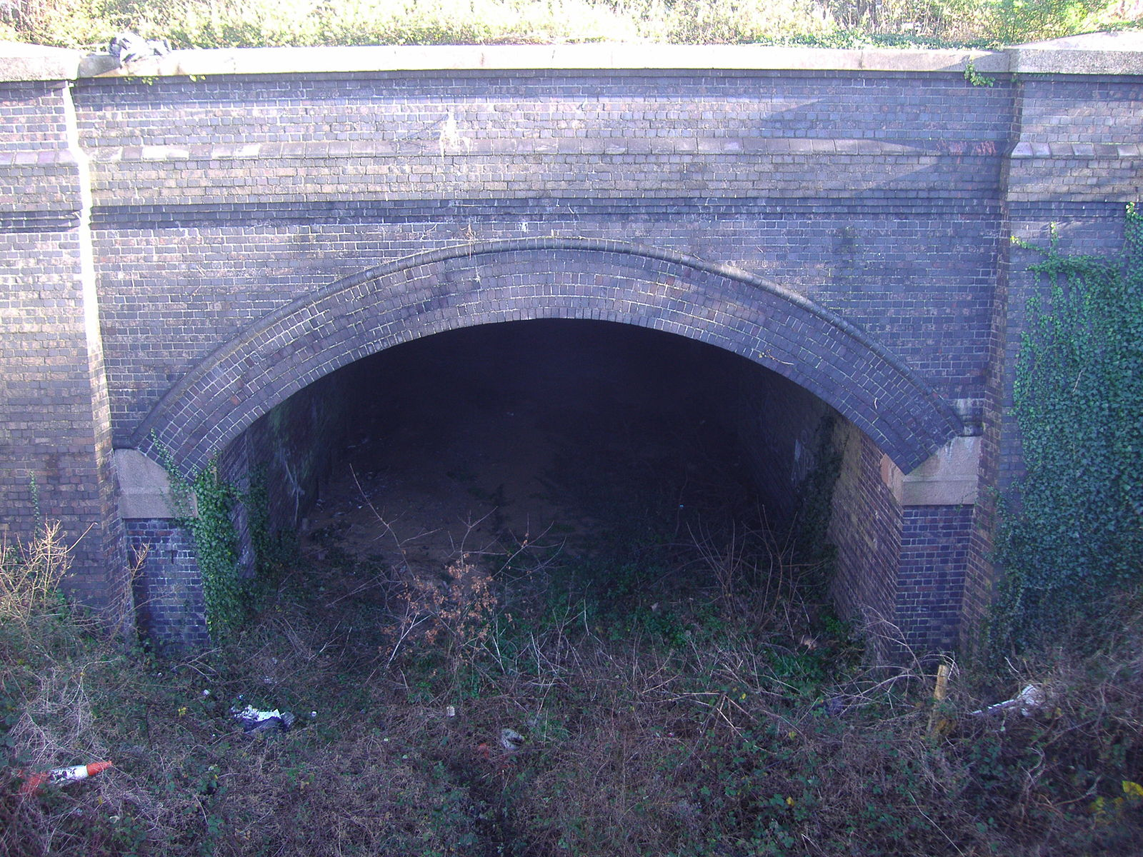 Cromer Tunnel on 12th Jan 2008