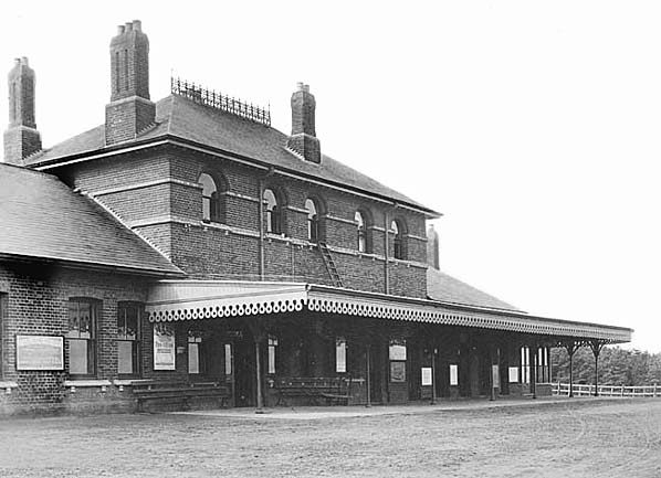 Cromer High shortly after it was built