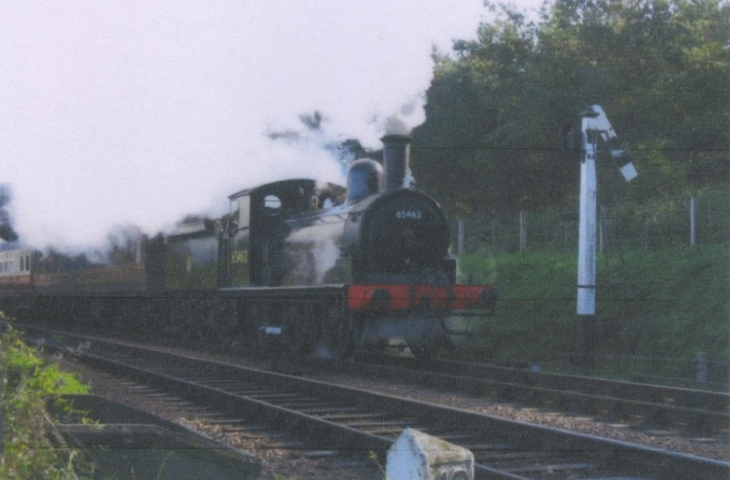 J15 class 0-6-0 steam loco of the type using the line