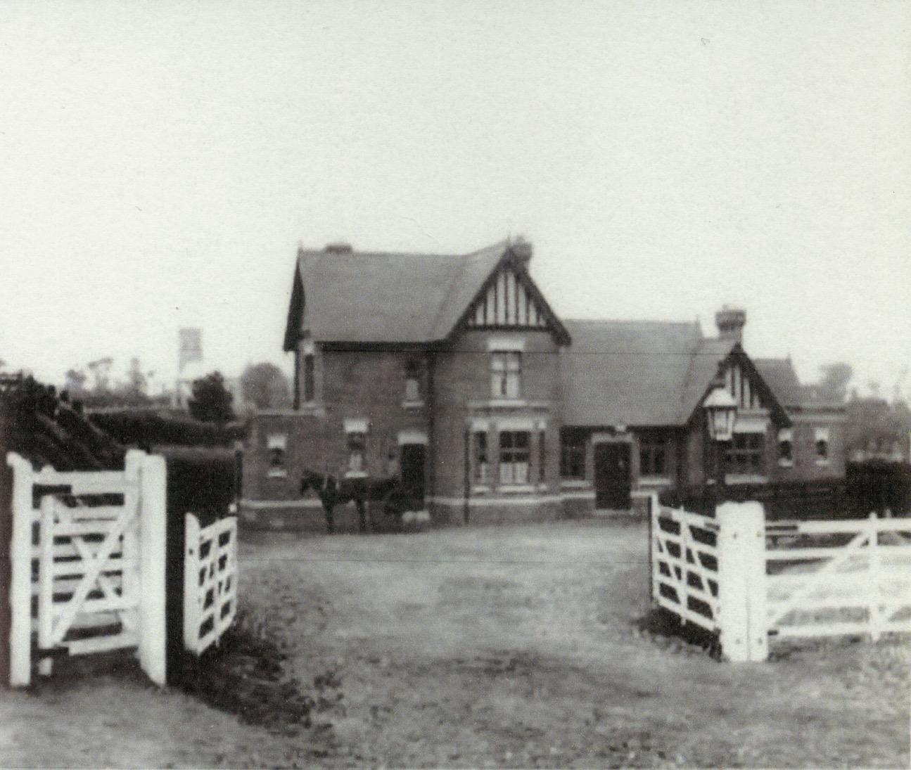 Knapton Station when new