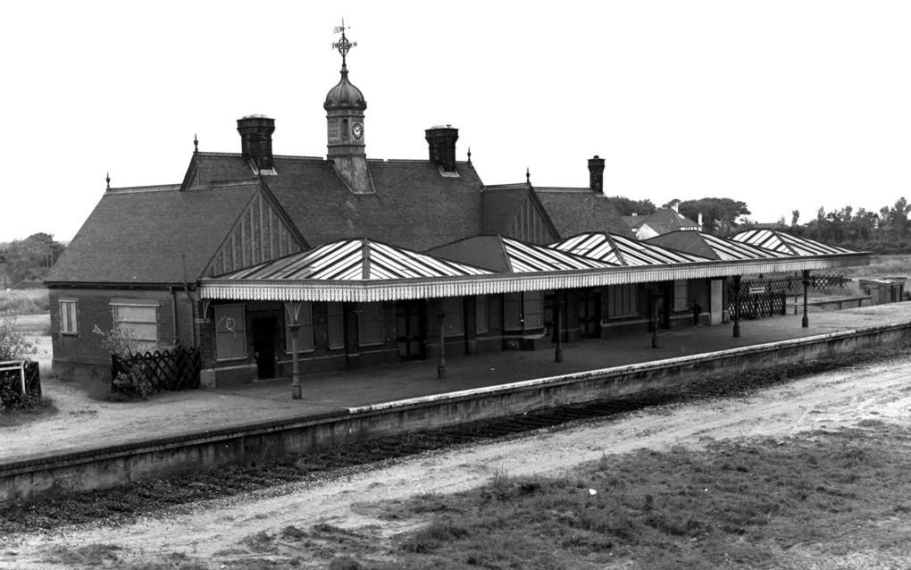 Mundesley Station shortly after closure