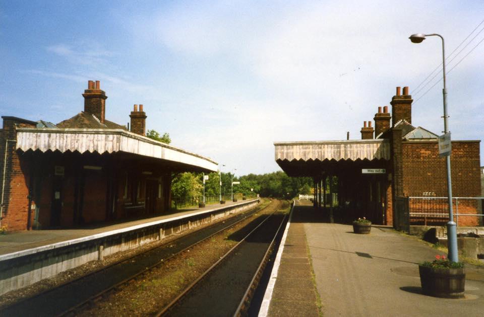 North Walsham Main station just before its demolition