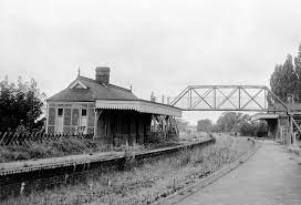 North Walsham Town station early 1960s