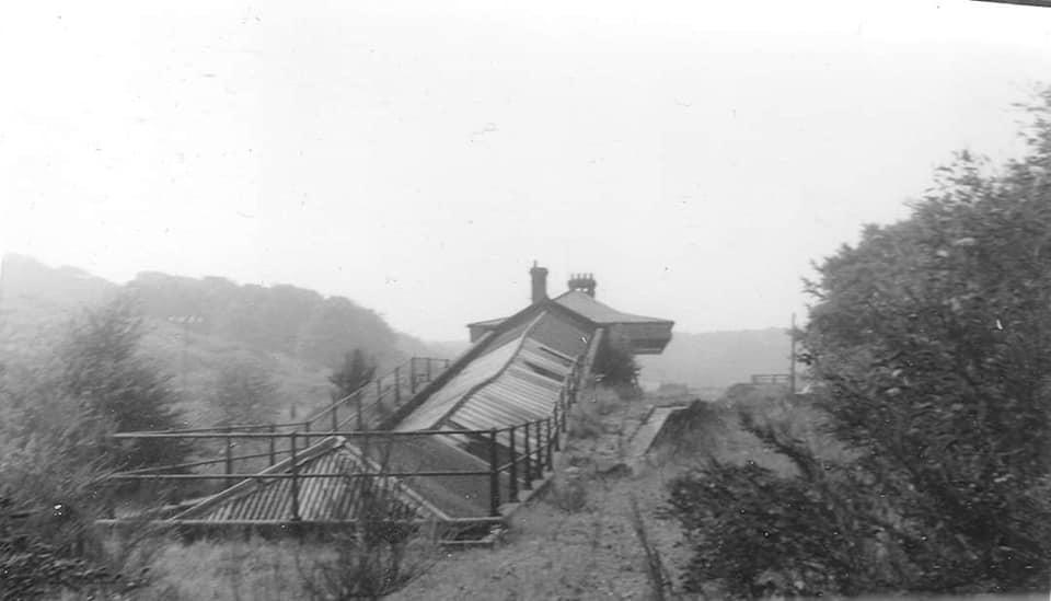 Overstrand Station after closure