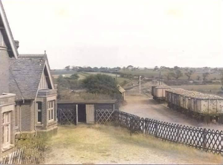 Paston & Knapton Railway Station