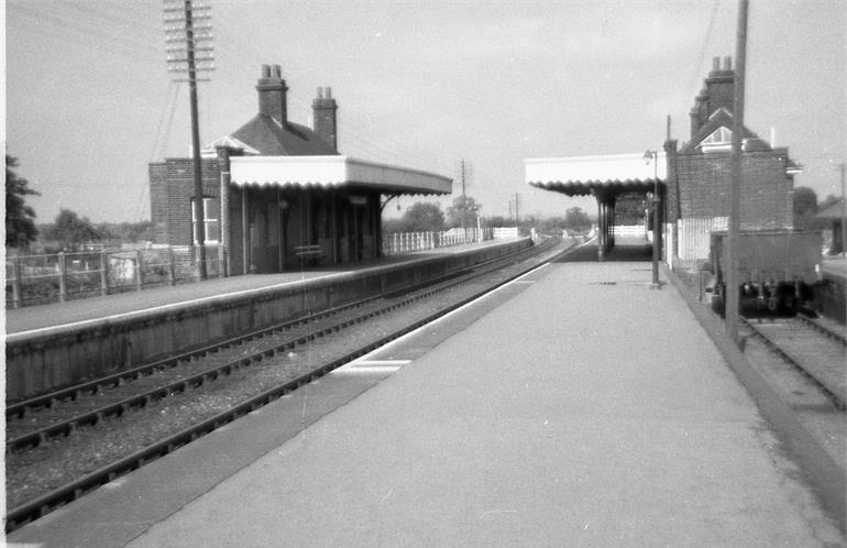 North Walsham Main station - 1971