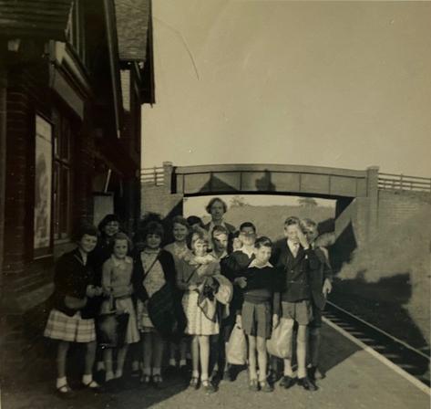 Knapton Station 1958